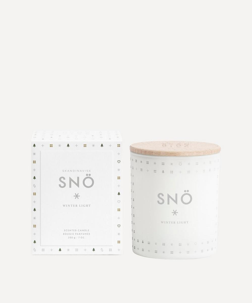 Skandinavisk - SNÖ Scented Candle 200g