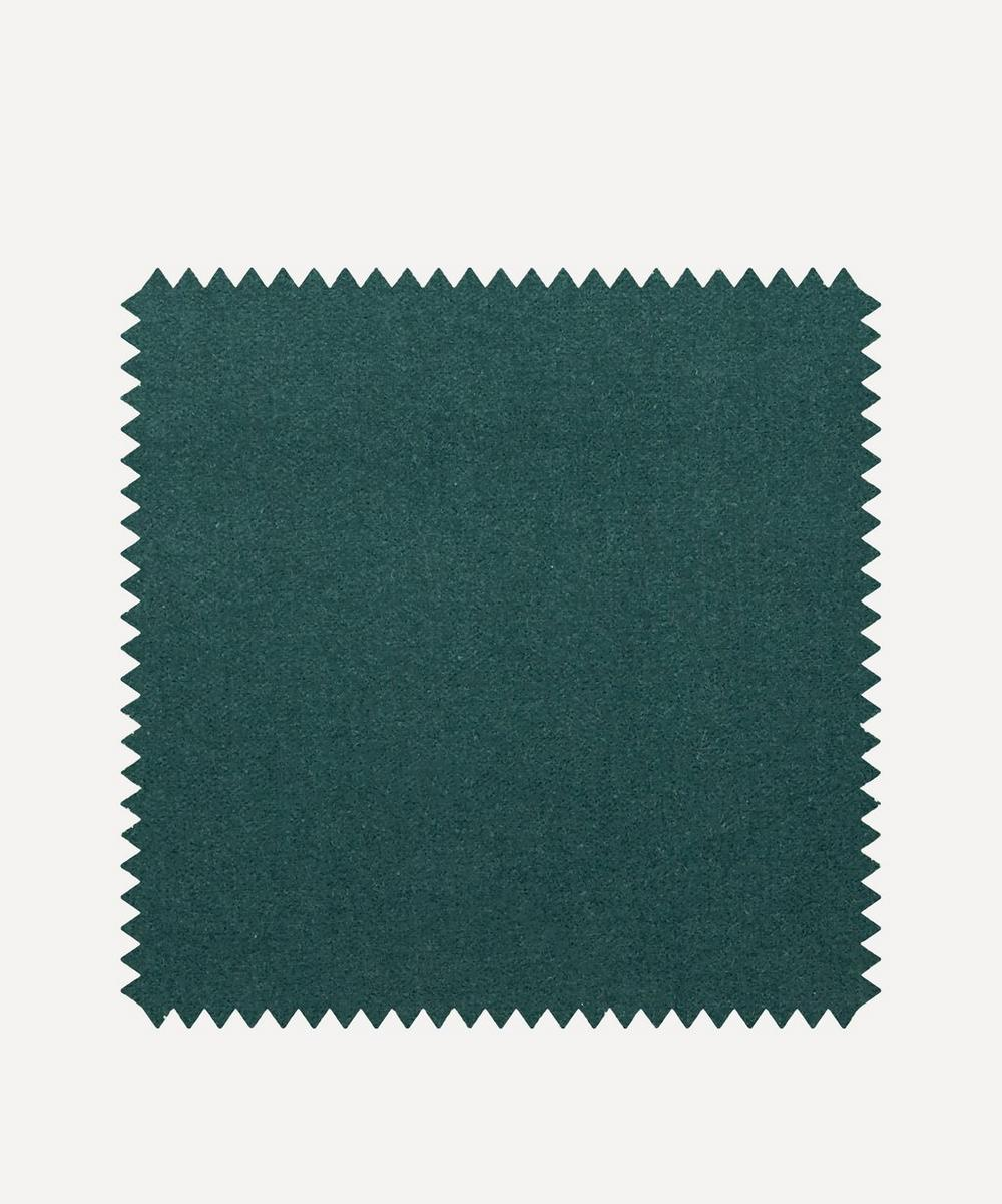 Liberty Interiors - Fabric Swatch - Salvia Plain Cotton Velvet