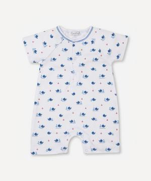 Breaching Whales Short Playsuit 0-24 Months