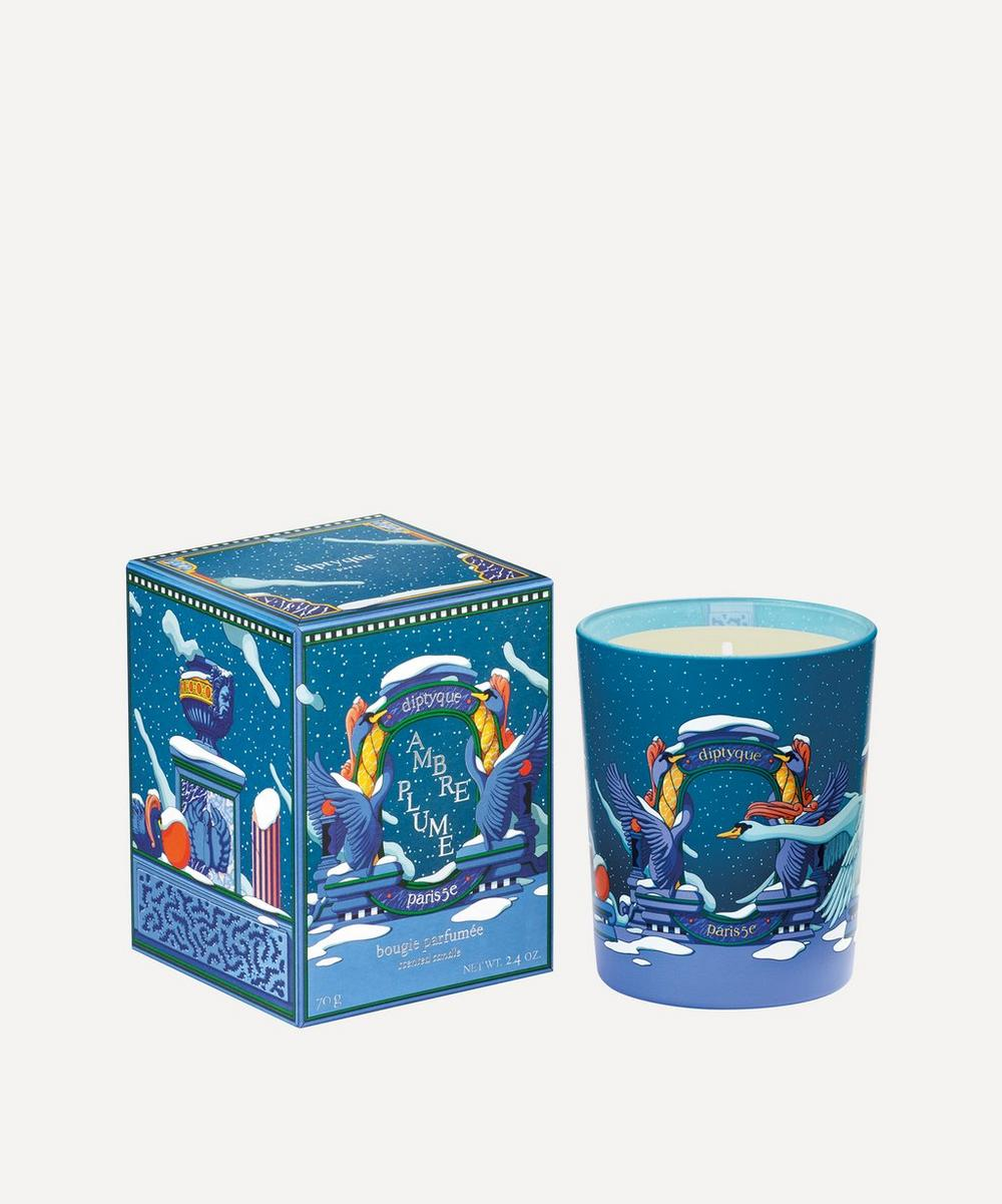 Diptyque - Ambre Plume Scented Candle 190g