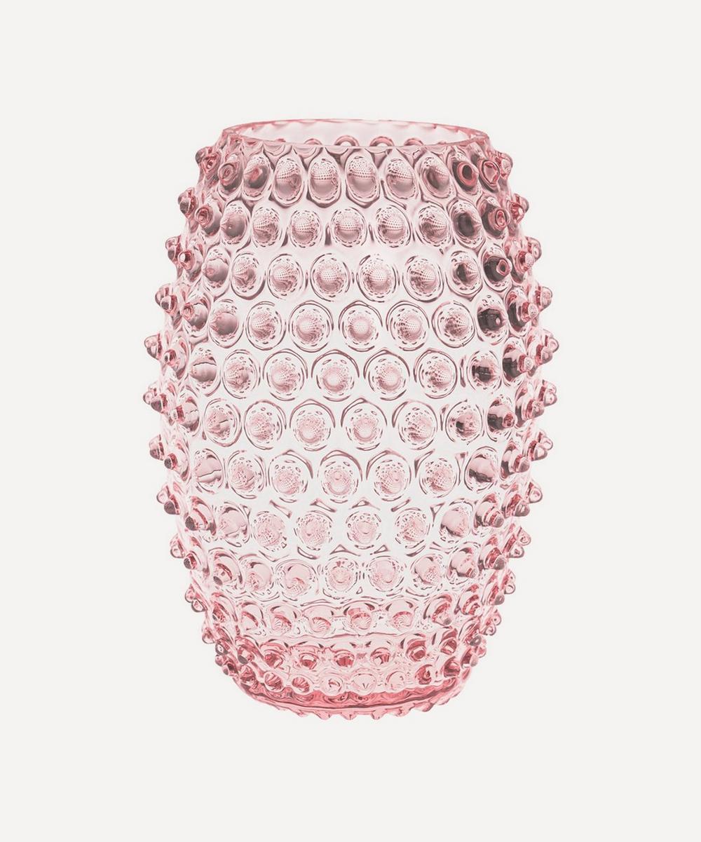 KLIMCHI - Tall Egg Hobnail Vase