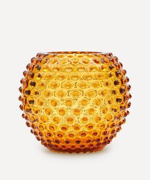 Round Hobnail Vase