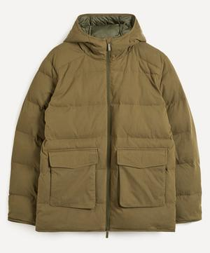 Mason 8259 Hooded Puffer Jacket