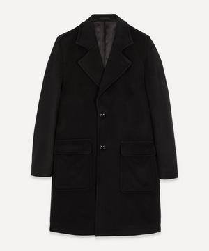 Fain 8420 Oversized Brushed Wool-Blend Coat