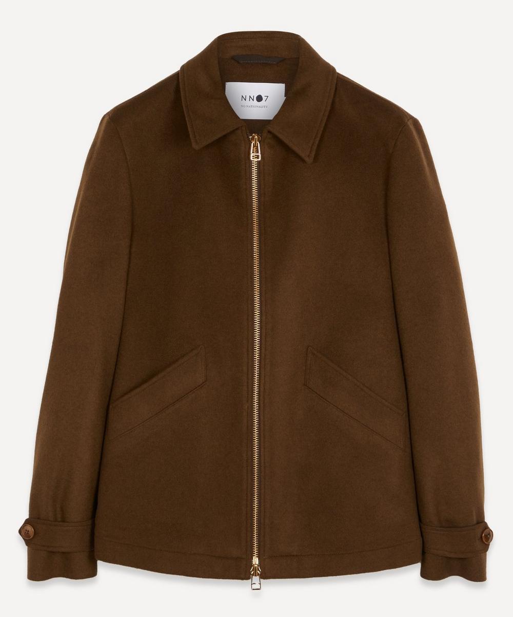 NN07 - Jeremy 8420 Brushed Wool-Blend Jacket