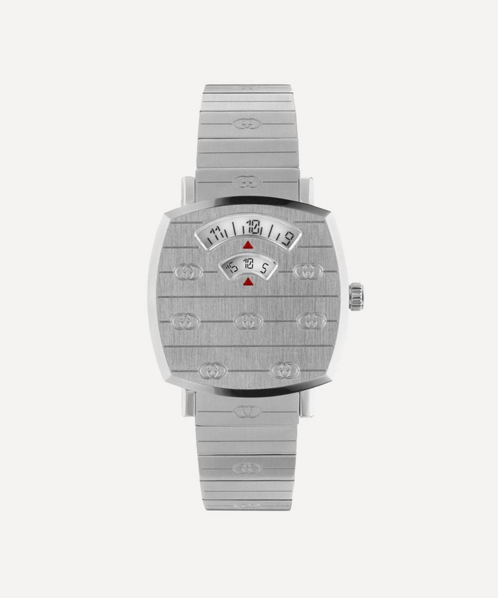 Gucci - Stainless Steel Grip Watch