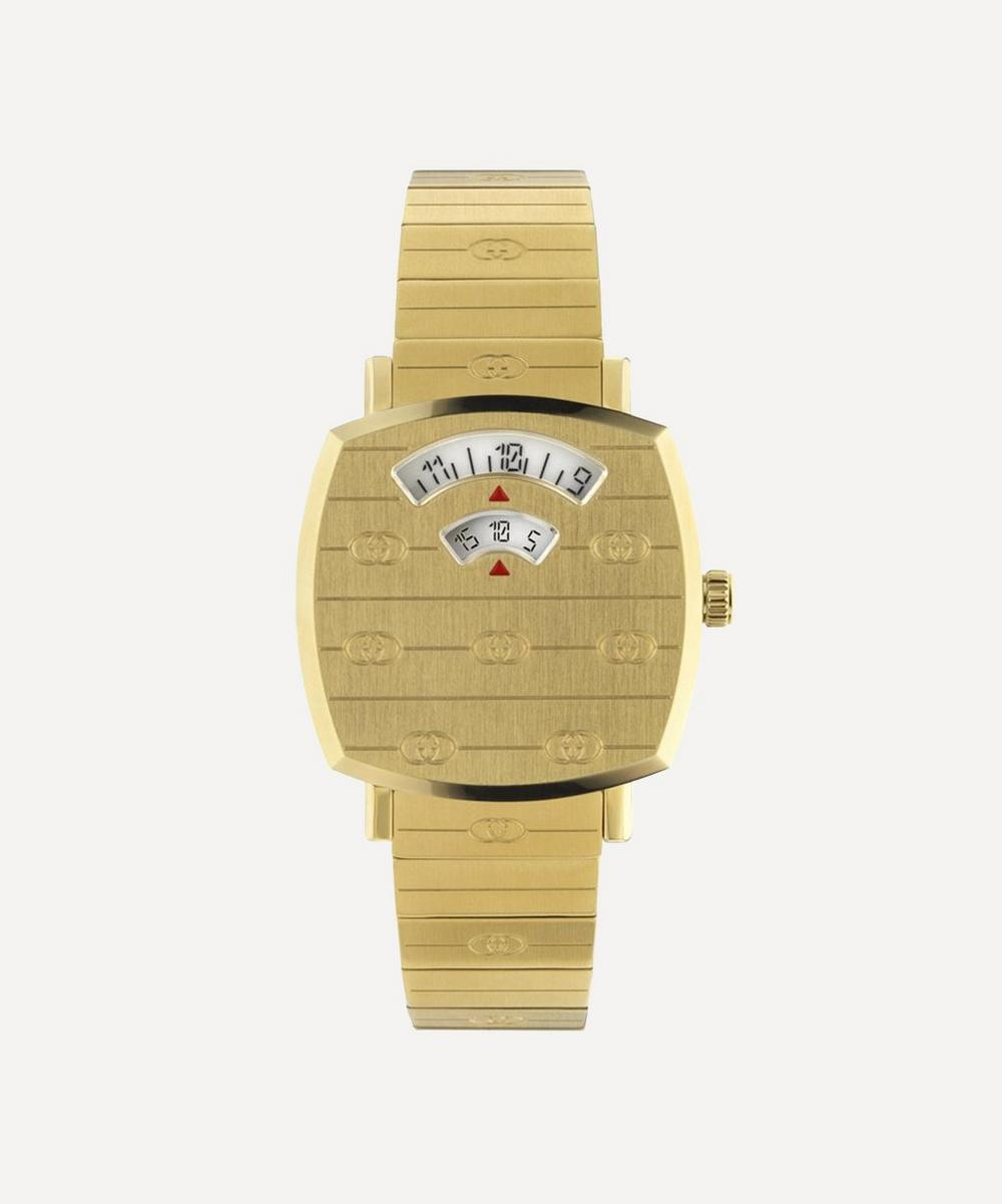 Gucci - Gold PVD Grip Watch