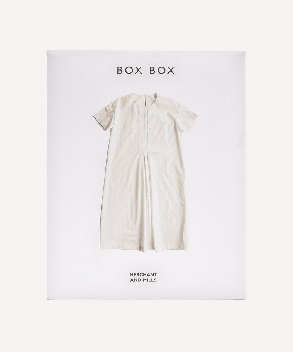 Merchant & Mills - The Box Box Sewing Pattern