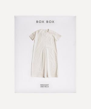 The Box Box Sewing Pattern