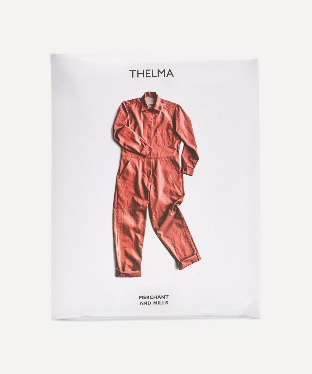 Merchant & Mills - The Thelma Boiler Suit Sewing Pattern