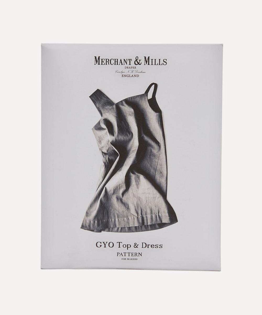 Merchant & Mills - The Gyo Dress Sewing Pattern