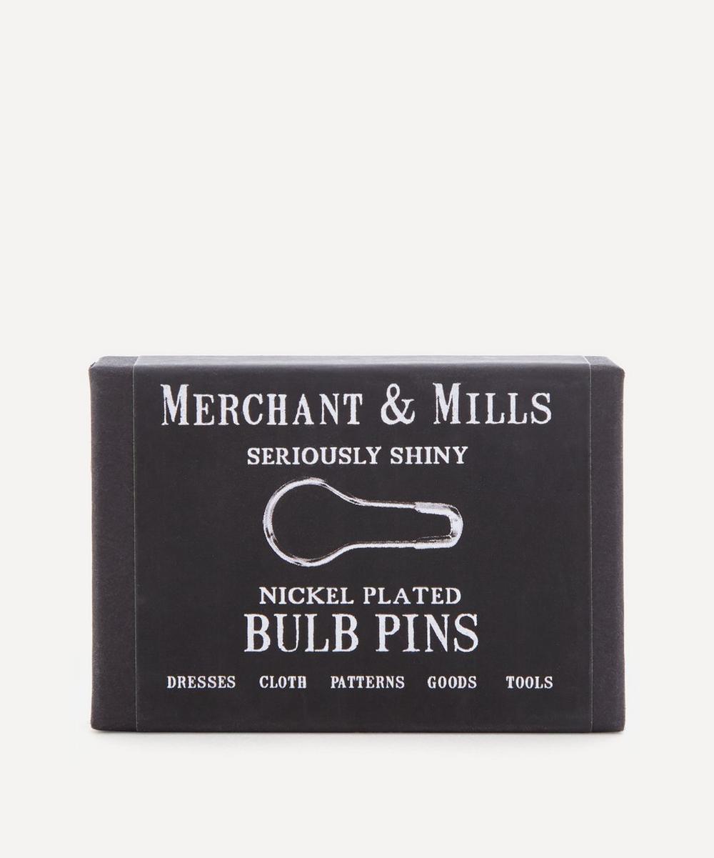 Merchant & Mills - Nickel-Plated Bulb Pins