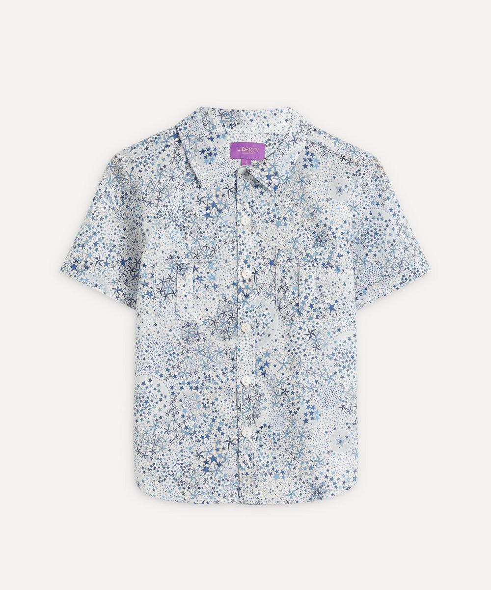 Liberty - Adelajda Tana Lawn™ Cotton Short Sleeve Shirt 2-10 Years