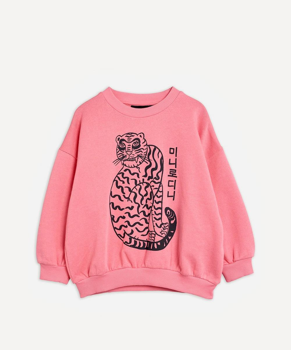 Mini Rodini - Tiger Sweatshirt 3-18 Months