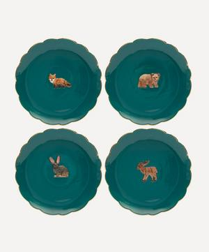 Forest Animal Plates Set of Four