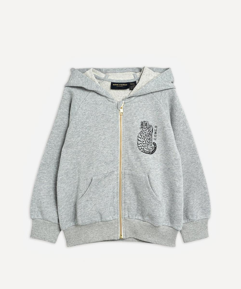 Mini Rodini - Tiger Zip Hoodie 2-8 Years