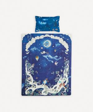 Space Above the Ground Single Duvet Set