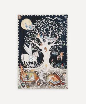 Enchanted Forest Quilted Single Blanket