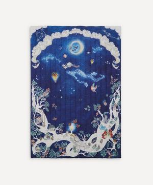 Space Above the Ground Quilted Single Blanket