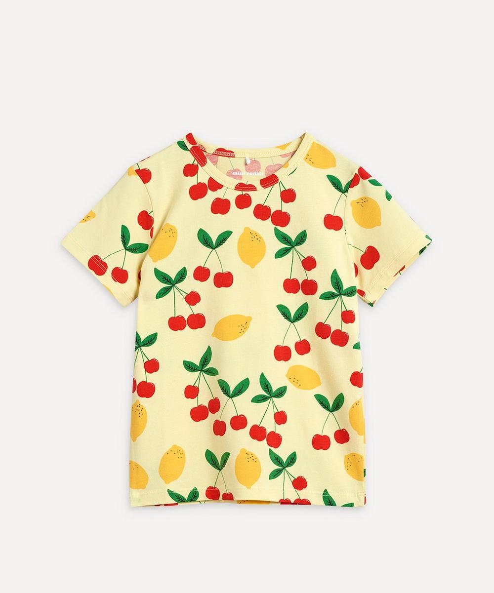 Mini Rodini - Cherry Lemonade Short-Sleeve T-Shirt 3-18 Months