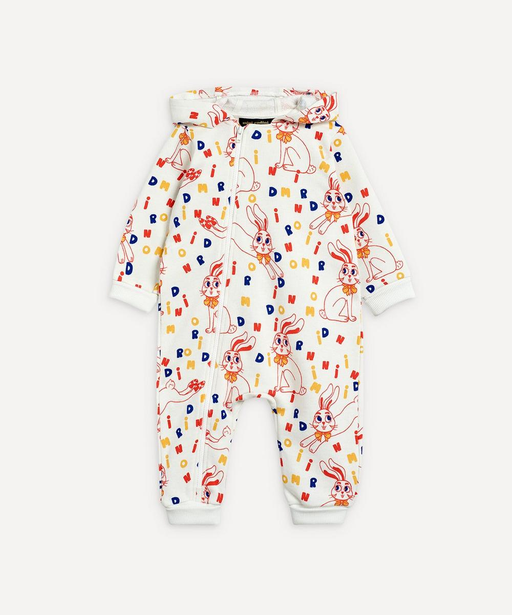 Mini Rodini - Rabbit Onesie 3-18 Months