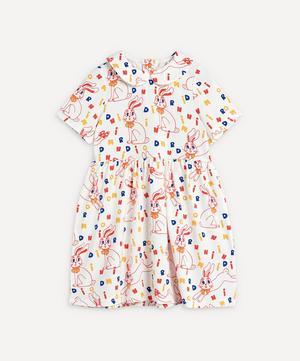 Rabbit Short-Sleeve Dress 2-8 Years