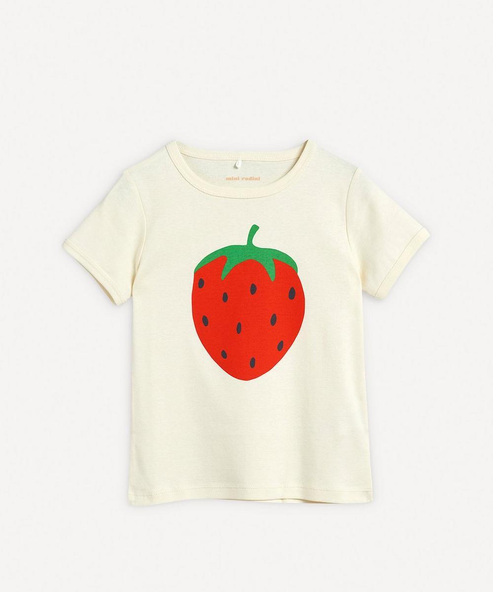 Mini Rodini - Strawberry Short-Sleeve T-Shirt 2-8 Years
