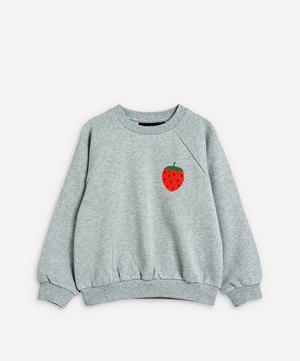 Strawberry Embroidered Sweatshirt 2-8 Years