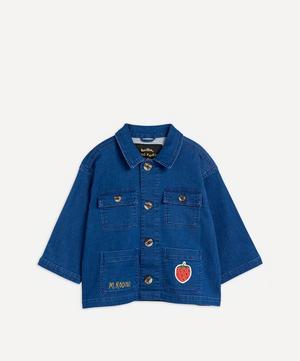Denim Strawberry Safari Jacket 2-8 Years