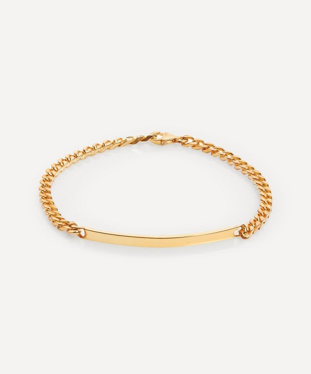 Miansai - Gold-Plated ID Chain Bracelet