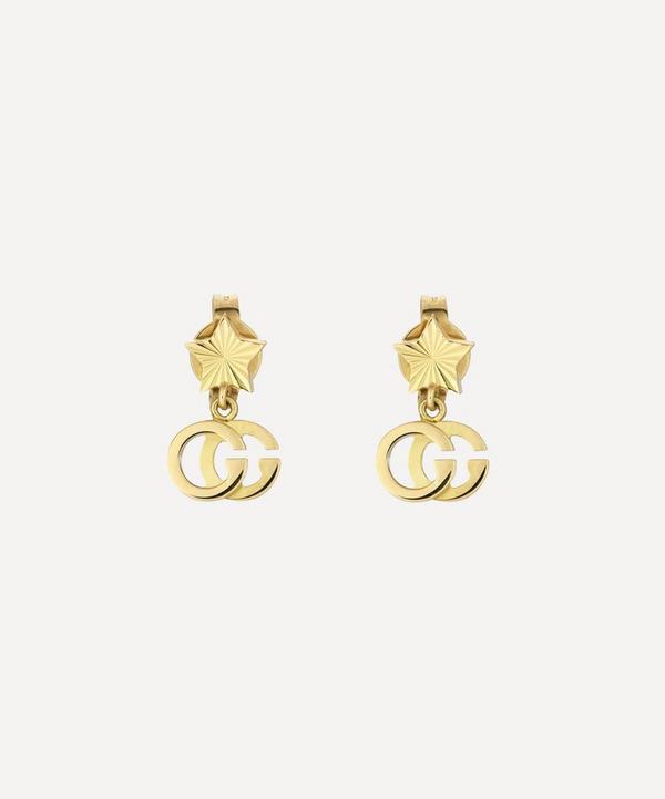 Gucci - Gold GG Running Drop Earrings