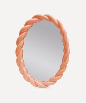 Oval Braid Mirror