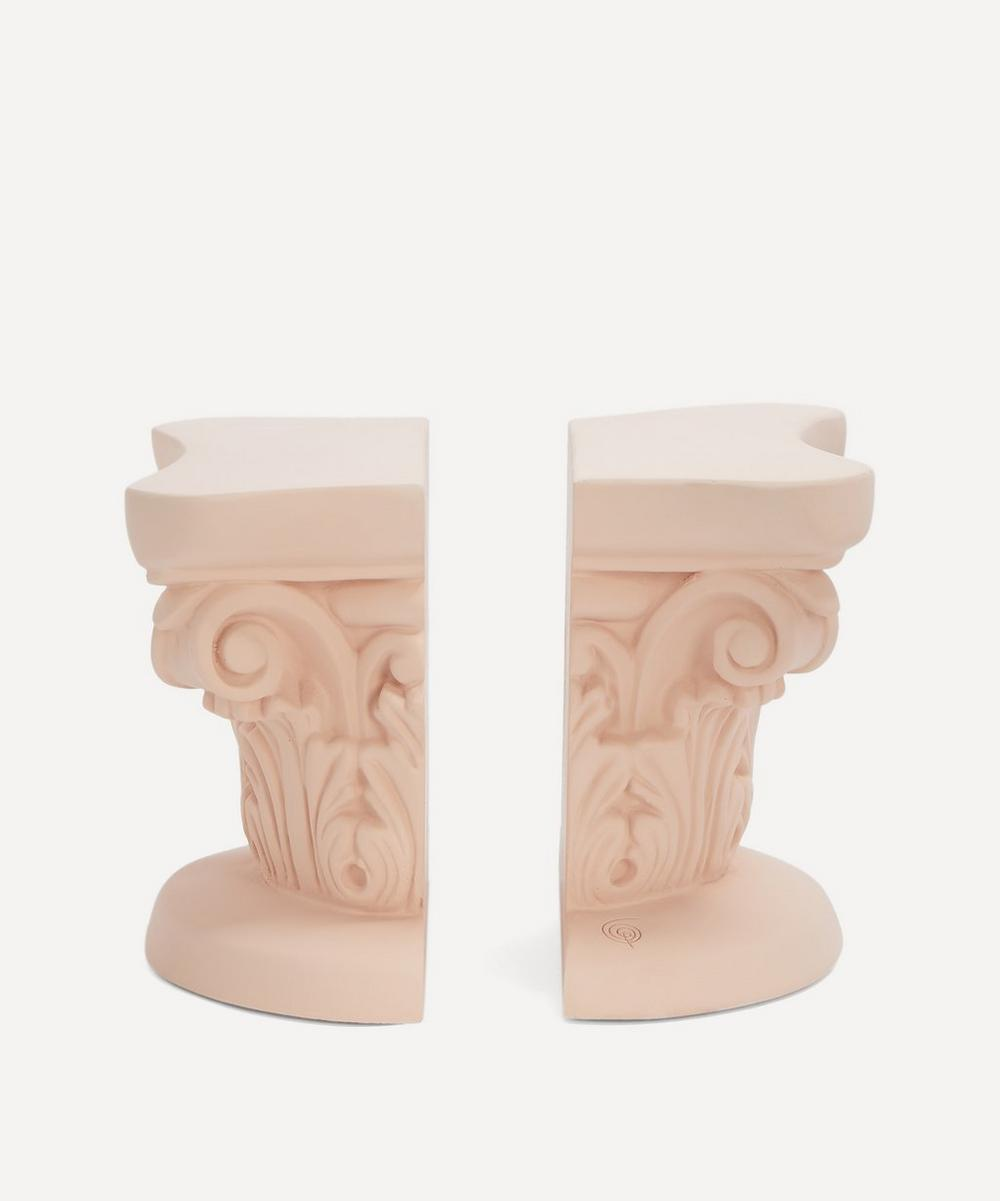 Sophia - Column Bookends Set of Two