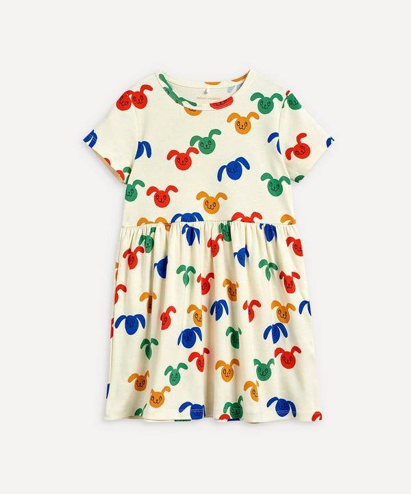 Mini Rodini - Rabbit Short-Sleeve Dress 3-18 Months