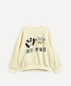 Cat and Panda Sweatshirt 3-18 Months