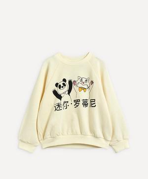 Cat and Panda Sweatshirt 2-8 Years