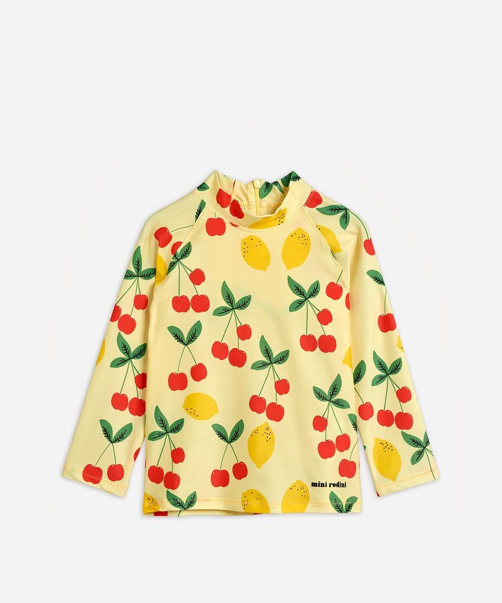 Mini Rodini - Cherry Lemonade Swim Top 2-8 Years
