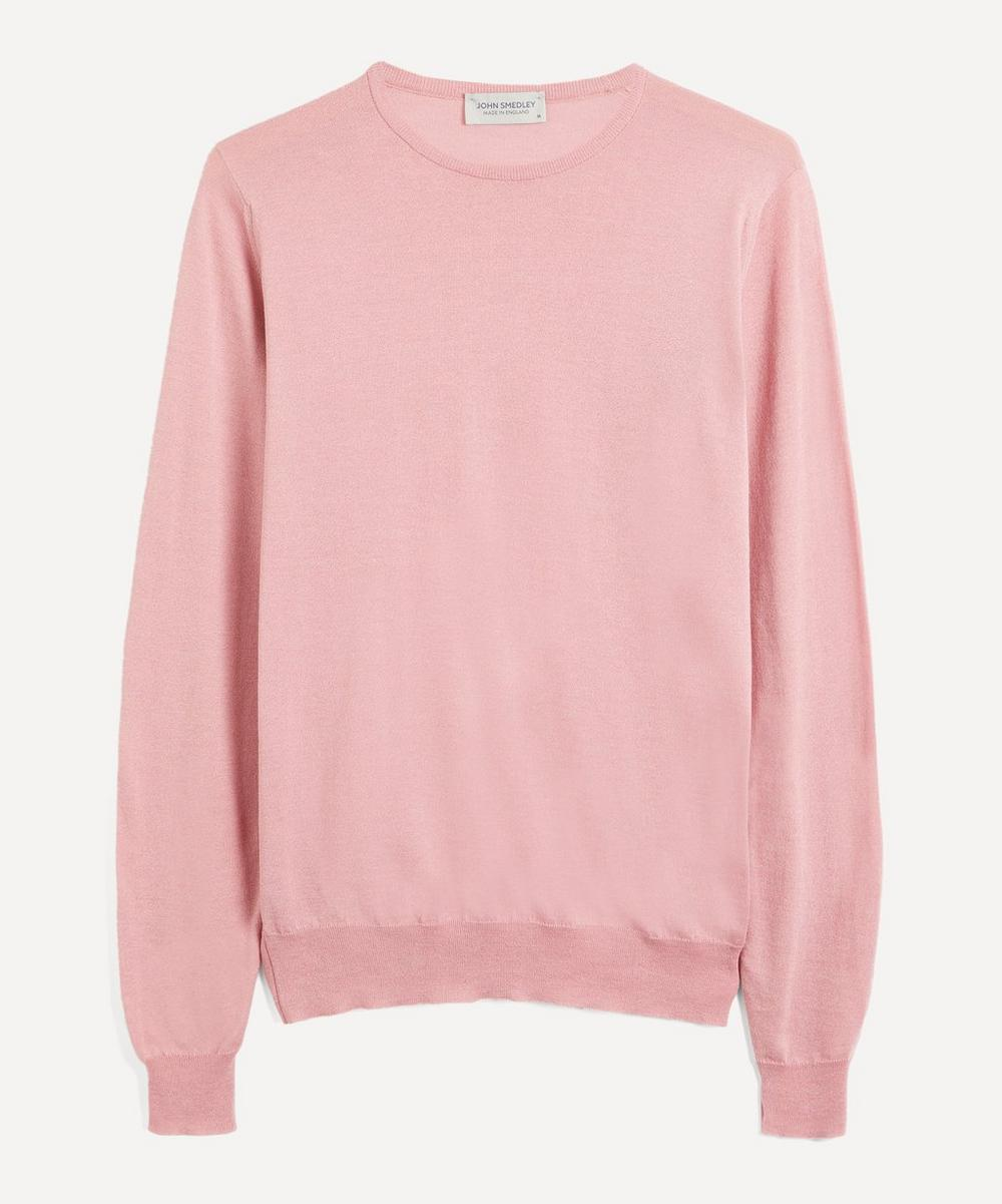 John Smedley - Clundy Merino Wool and Sea Island Cotton-Blend Sweater