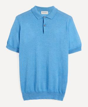 Payton Merino Wool and Sea Island Cotton Polo-Shirt