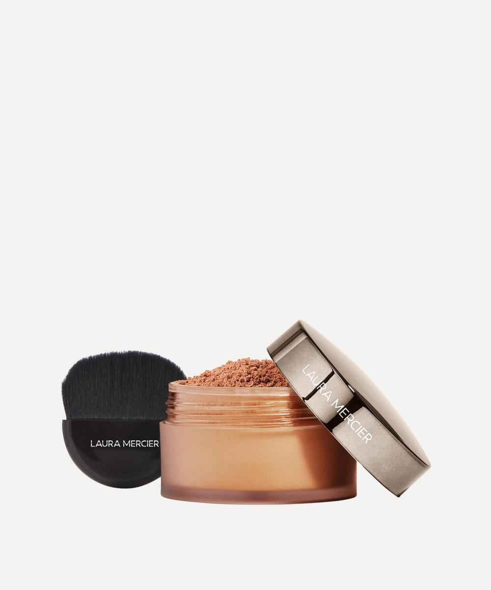 Laura Mercier - Set to Perfect Translucent Medium Deep Loose Setting Powder and Brush Set