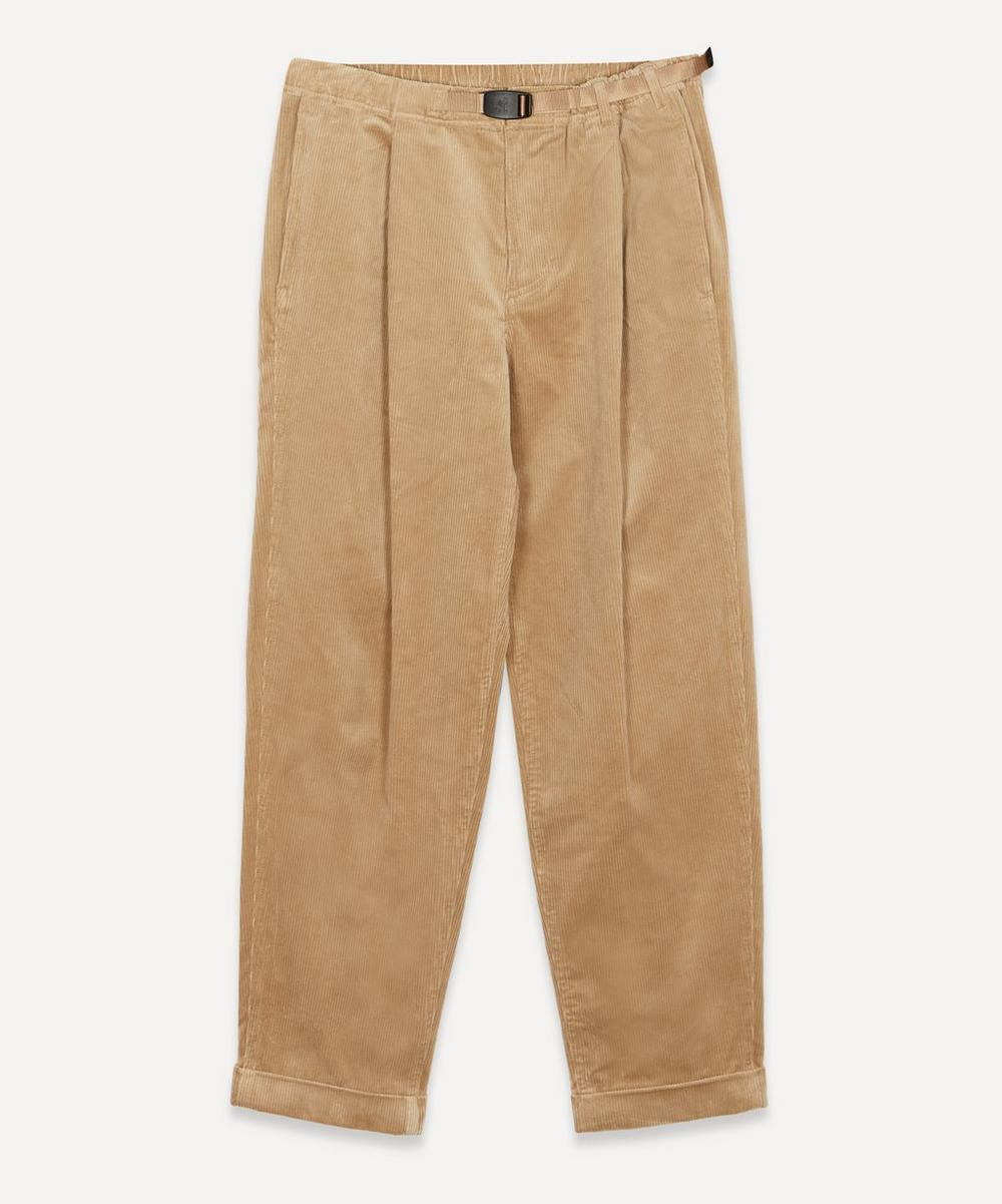 Gramicci - Corduroy Tuck Tapered Trousers