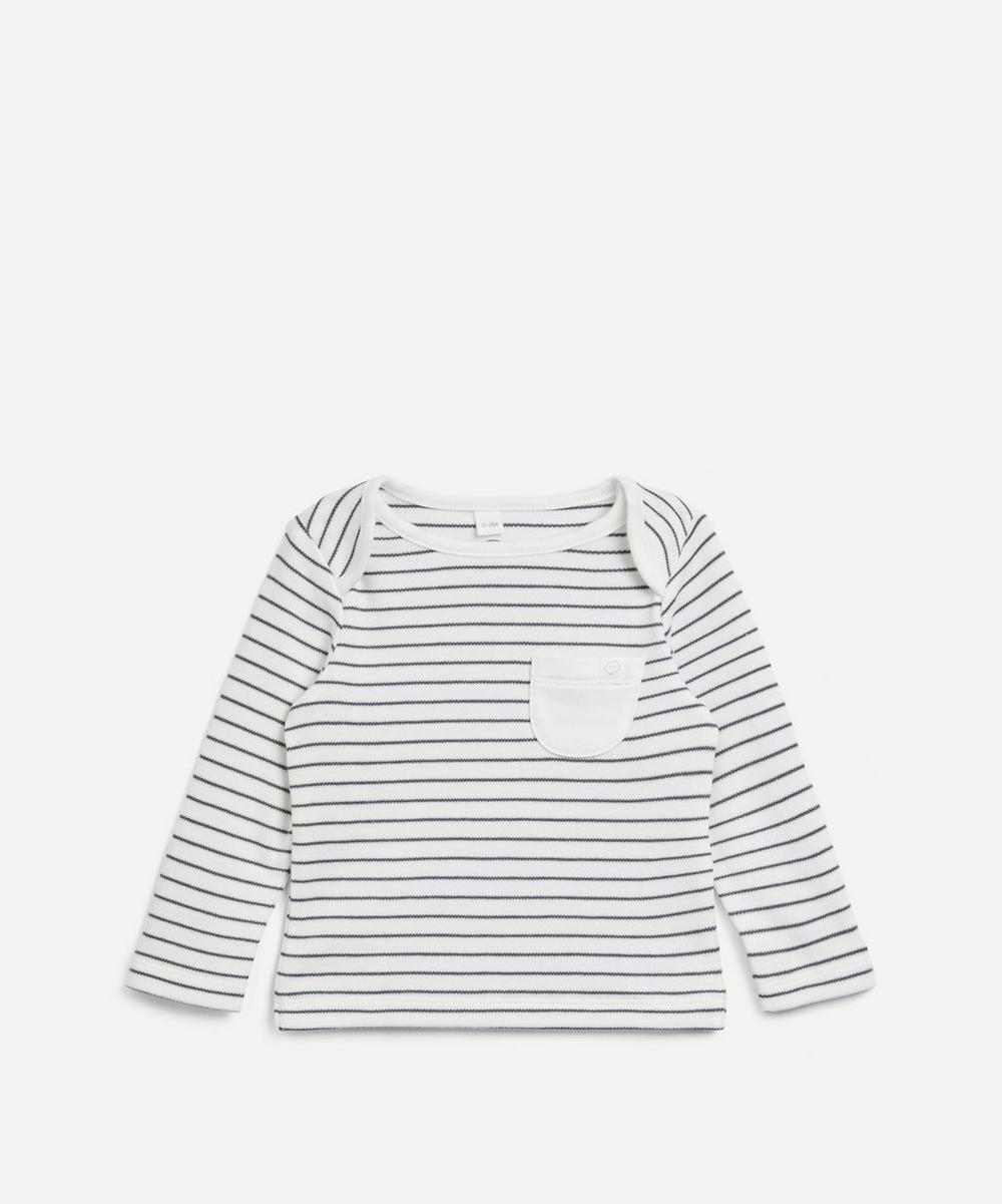 MORI - Stripe Everyday Long Sleeve T-shirt 0-24 Months
