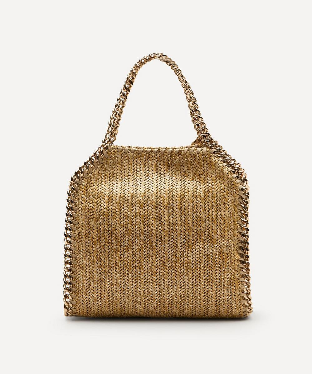 Stella McCartney - Mini Falabella Woven Tote Bag