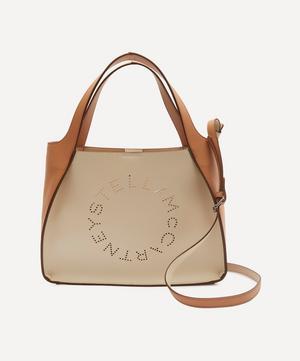 Stella Logo Faux Leather Cross-Body Bag
