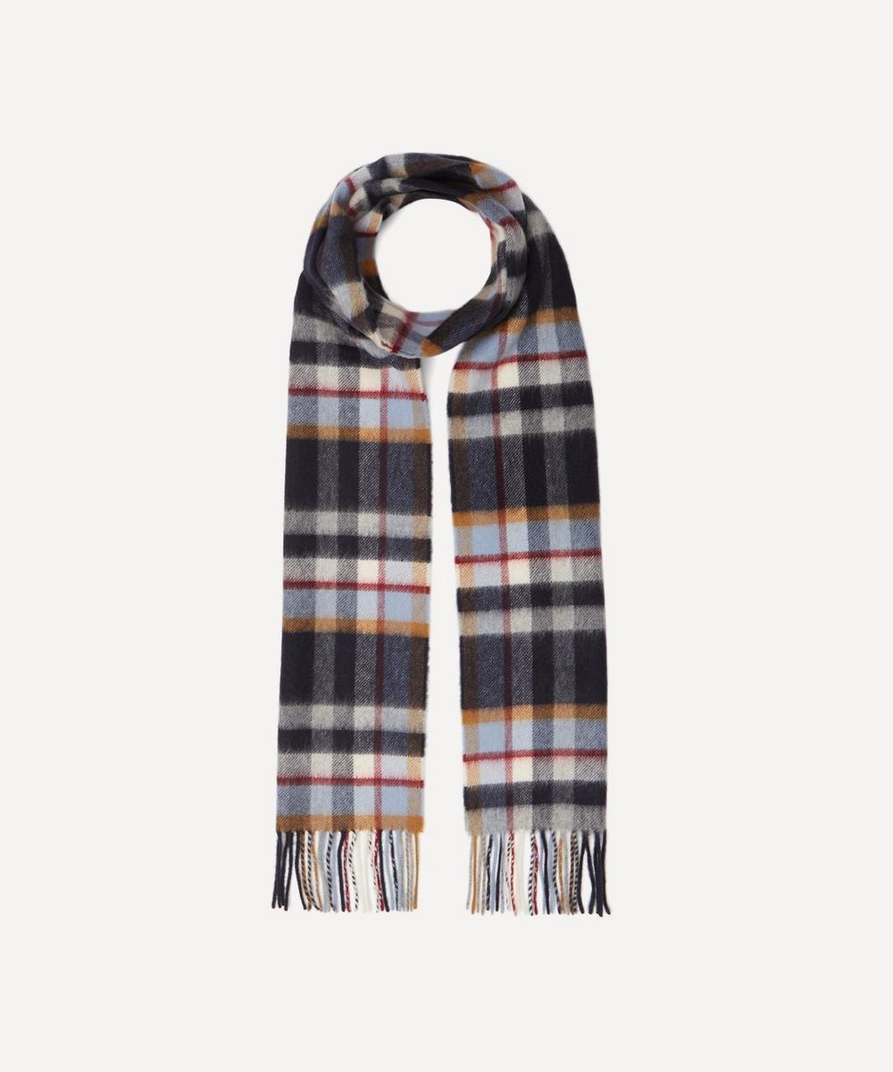 Johnstons of Elgin - Plaid Check Merino Wool Scarf