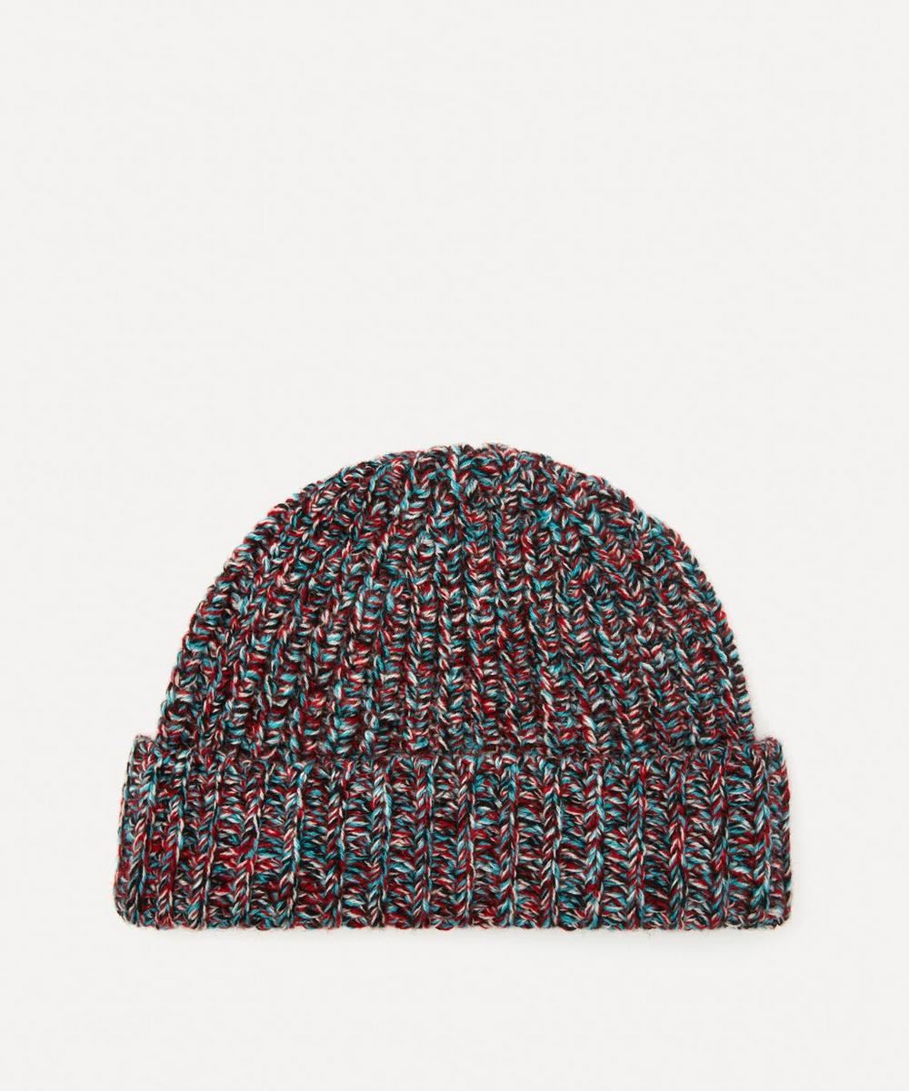 Johnstons of Elgin - Ribbed Merino Wool Marl Hat