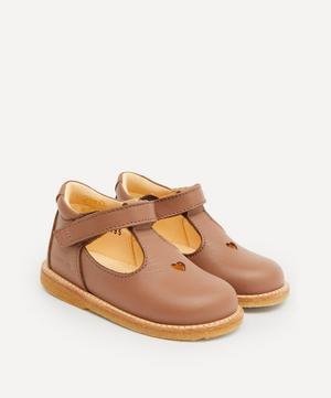 Heart and Velcro Mary Jane Starter Shoes Size 19-24