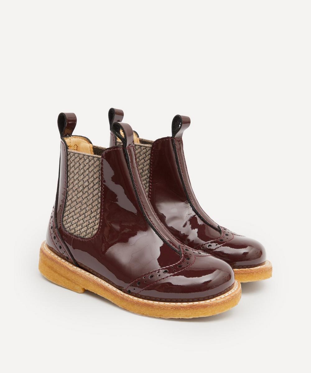 Angulus - Classic Elastic Chelsea Boots Size 23-29