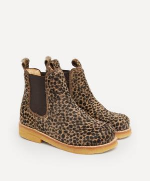 Cheetah Pony Chelsea Boots Size 24-29