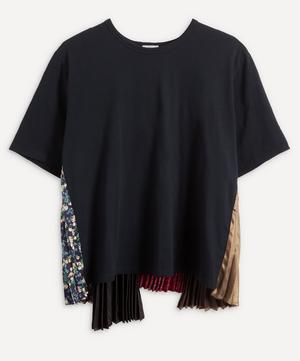 Pleated Panel T-Shirt